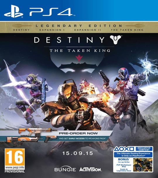 PS4 Destiny : The Taken King Legendary Edition - R3