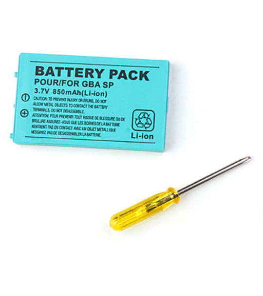 Gameboy Sp Replacement Battery 850Mah