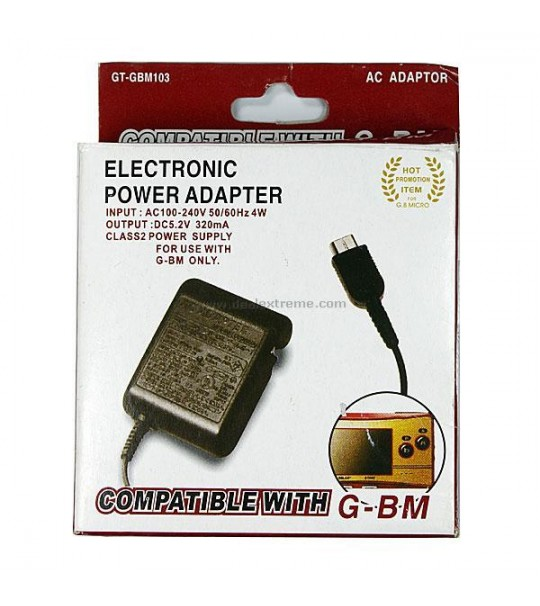 Gamboy Micro Power Ac adaptor