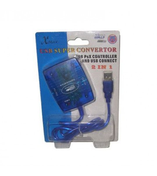 Ps2 To Pc 2in1 Super Usb Convertor