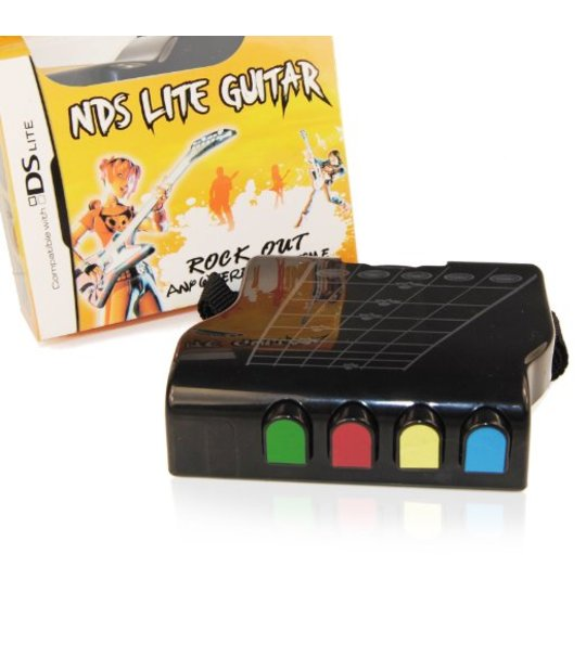 Nintendo Ds Lite Pega Guitar