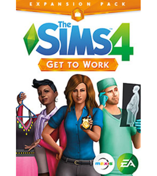 Pc The Sims 4 Get To Works Expansion