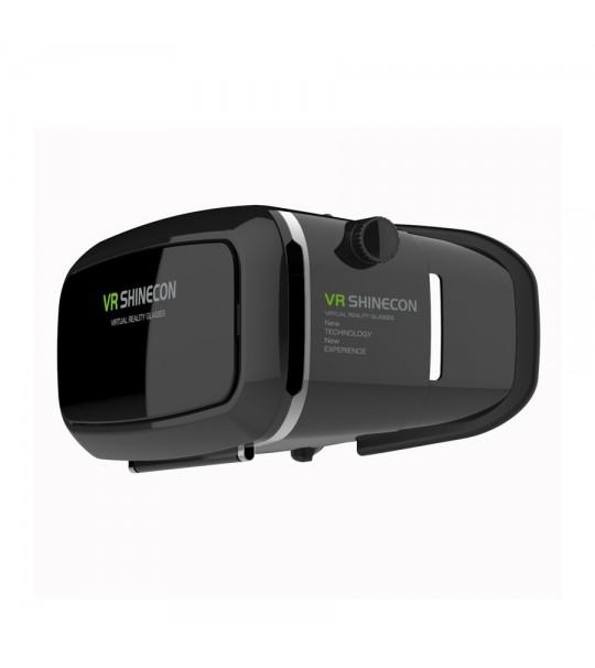 VR SHINECON Virtual Reality Headset 3D VR Box Glasses+Bluetooth Joystick Bundle-Best Deal!