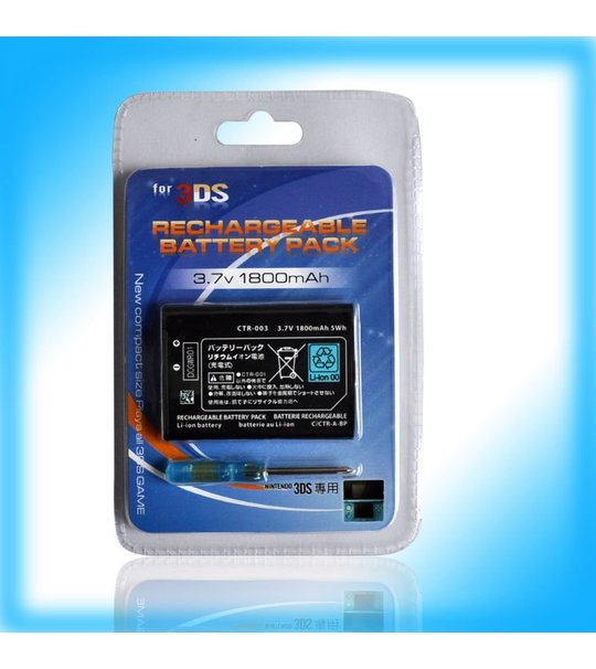 Nds Lite Replacement Battery 2000Mah