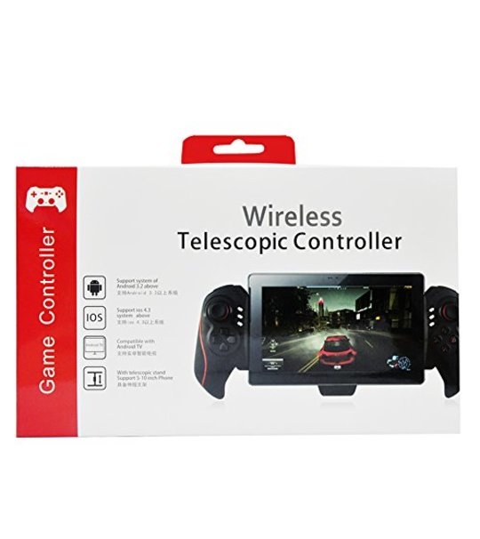IPEGA BTC-938 Telescopic Wireless Bluetooth Controller Joystick Support 5-10 Inch  Android/IOS TAB