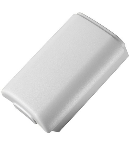Microsoft Xb360 Wireless Controller Battery Cover-White