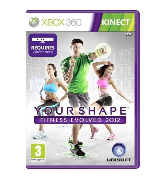 Xbox360 Kinect Disney Adventures + Yourshape Fitness Evolved