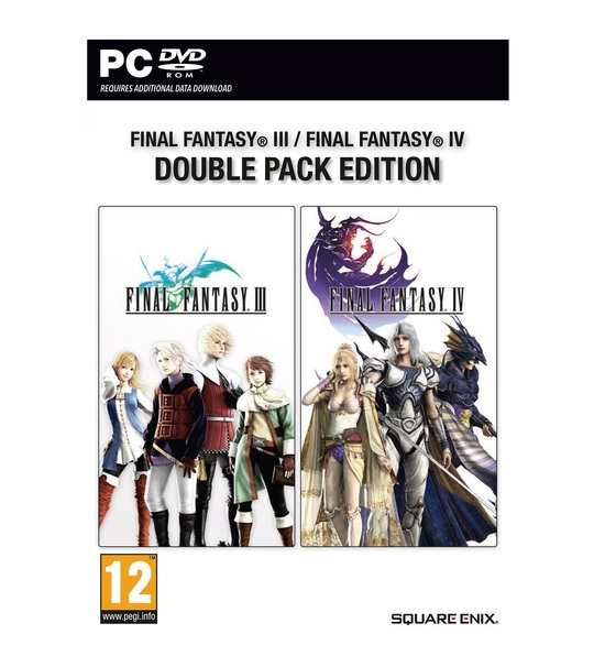 PC Final Fantasy III and IV Bundle