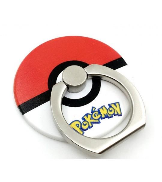 Pokemon Pokeball Rotating Ring Stand Holder - RED