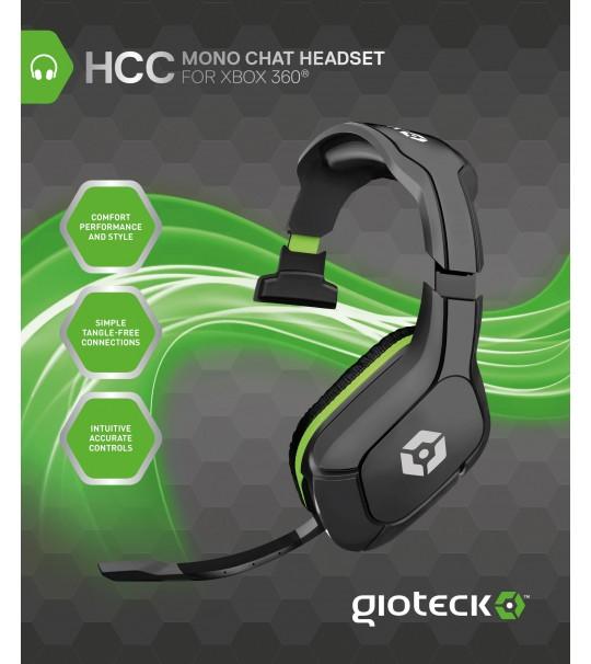 Gioteck HCC Mono Headset For Xbox 360