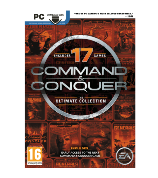 PC Command & Conquer The Ultimate Collection