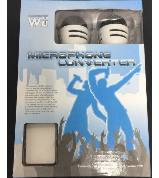 Microphone For Wii/Ps3/Pc/Xbox360