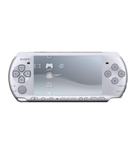 Sony Psp 3006 Slim & Lite - Satin Silver Full Offer Bundle