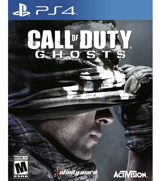 PS4 CALL OF DUTY GHOST R1/ALL
