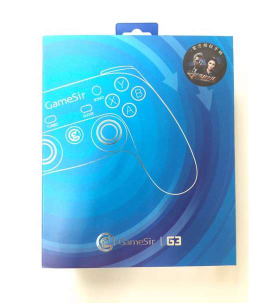 GameSir G3 HANDHELD GAMEPAD MULTIMEDIA WIRELESS BLUETOOTH CONTROLLER JOYSTICK FOR ANDROID/IOS/PC MOBILE PHONE