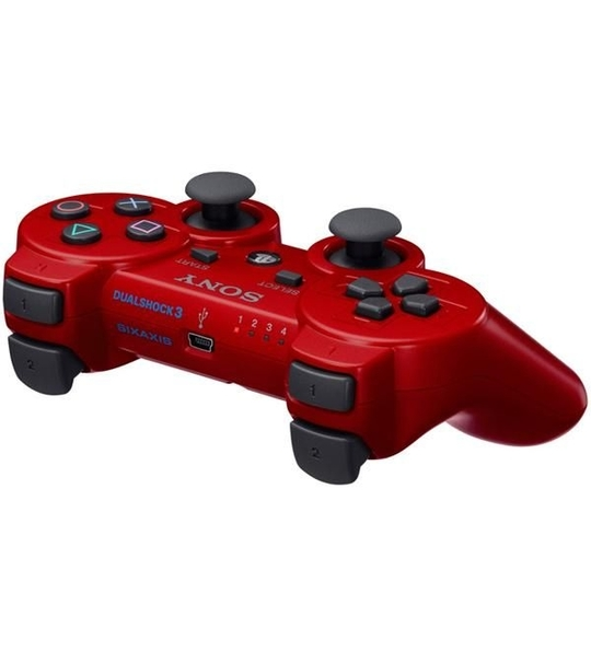 Ps3 Dual Shock 3 Controller Red -OEM