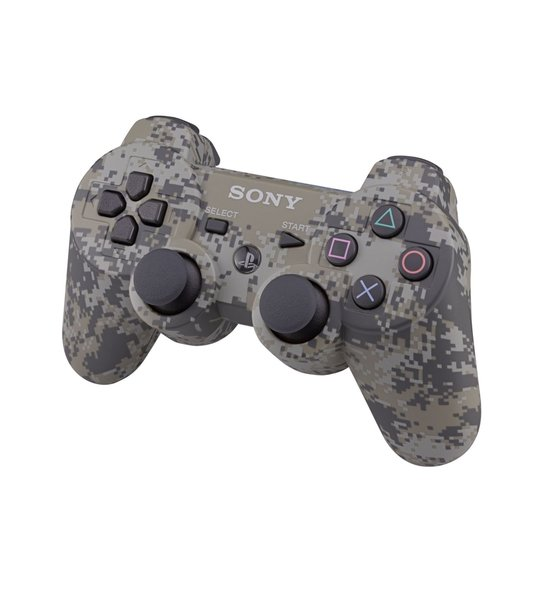 Ps3 Dual Shock 3 Controller Urban Camouflage -OEM