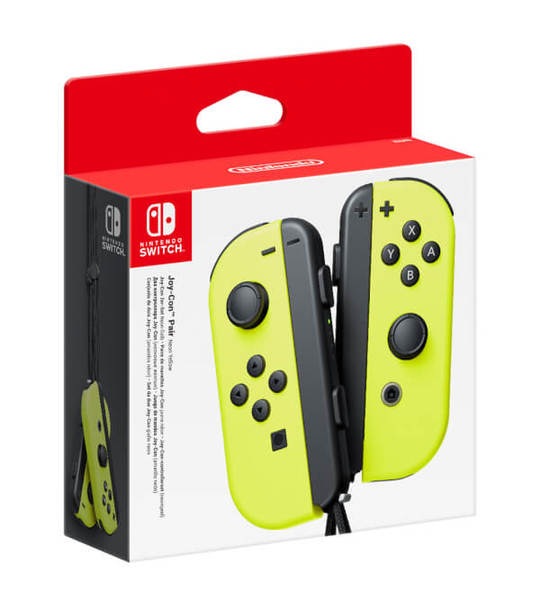 NINTENDO SWITCH OFFICIAL JOY-CON LEFT YELLOW + RIGHT YELLOW