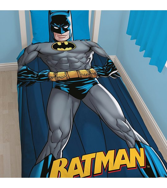 Batman DC Shadow Single Panel Duvet Cover Set
