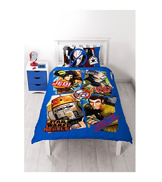 Disney Star Wars Rebels Tag Double Panel Duvet Cover Set