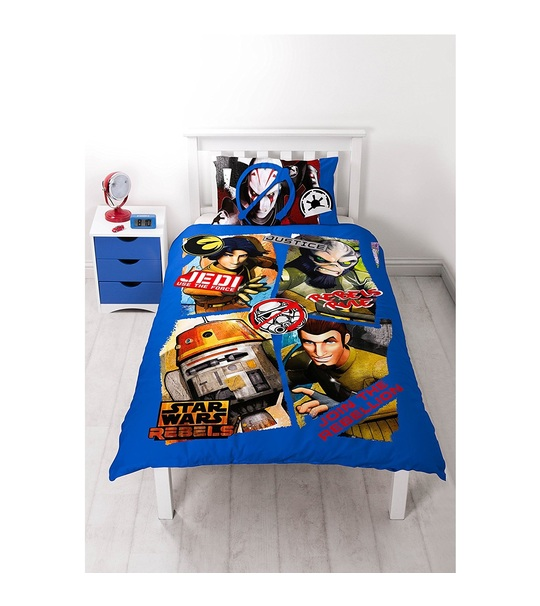 Disney Star Wars Rebels Tag Single Panel Duvet Cover Set