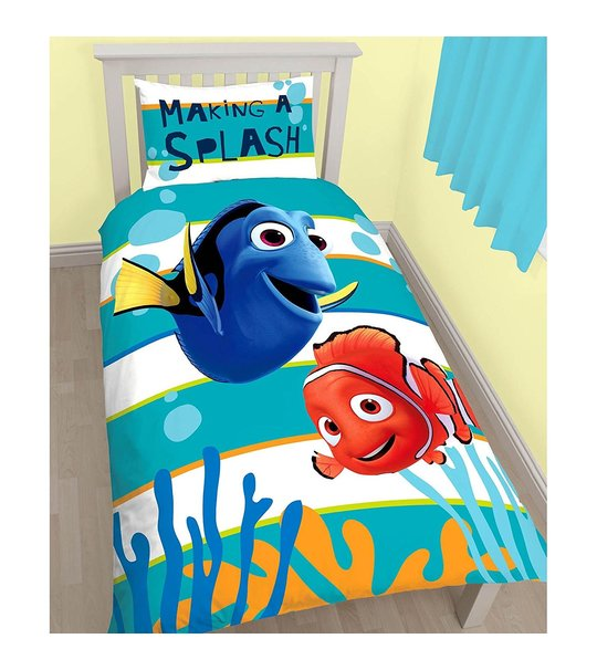 Finding Dory - Single Panel Duvet Cover Set