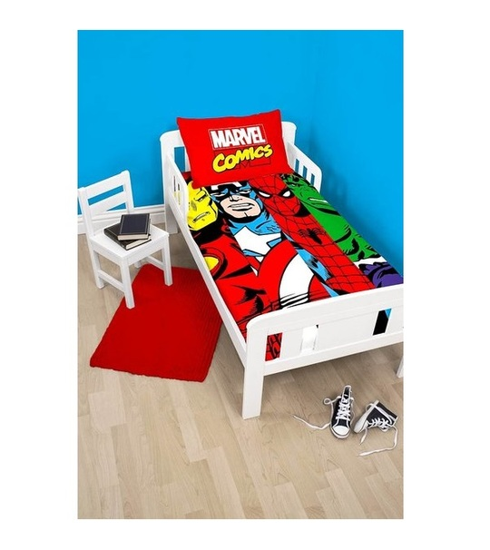 Marvel Comics Clash Junior Single Panel Duvet Cover Set