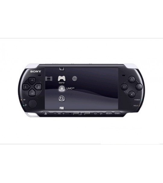 Sony Psp 3006 Slim & lite - Piano Black Full Offer Bundle