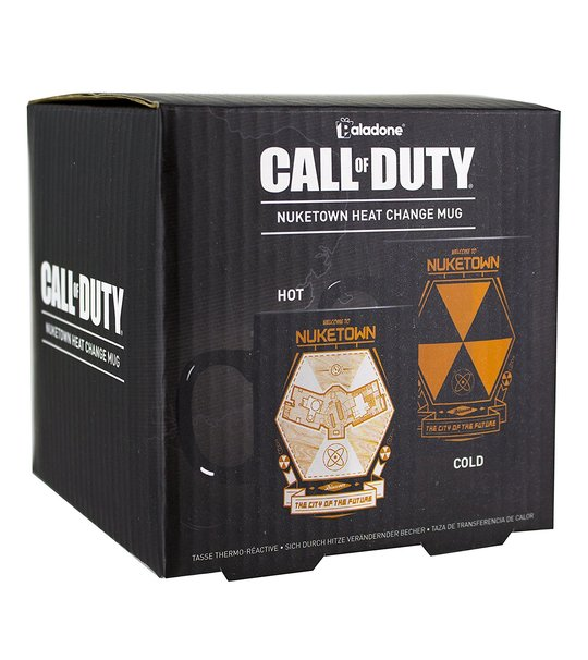 CALL OF DUTY NUKETOWN HEAT CHANGE MUG