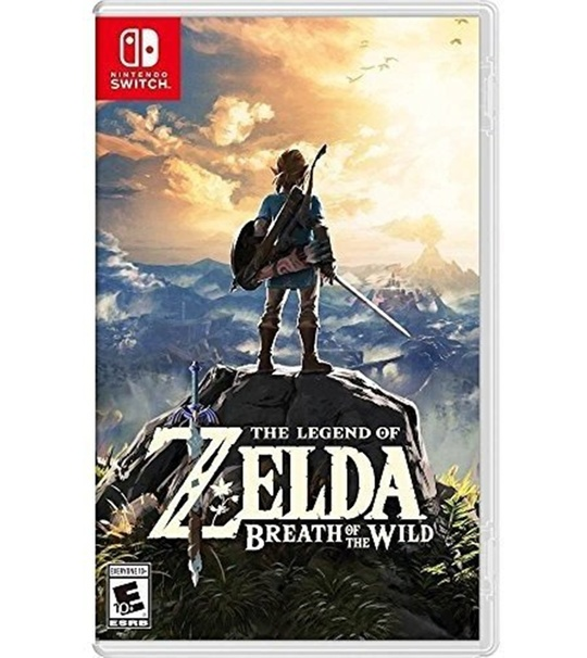 NINTENDO SWITCH THE LEGEND OF ZELDA:BREATH OF THE WILD (CHI/JAP/ENG) ASIA