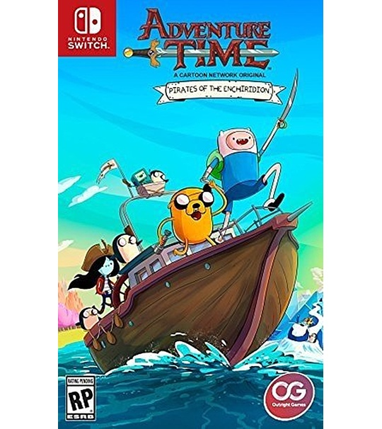 SWITCH ADVENTURE TIME PIRATES OF THE ENCHIRIDION