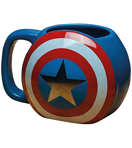 CAPTAIN AMERICA SHIELD MUG