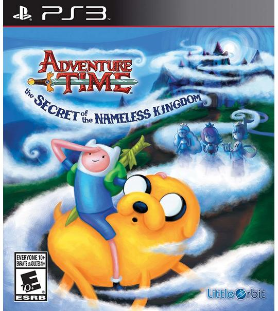 PS3 ADVENTURE TIME THE SECRET OF THE NAMELESS KINGDOM R2