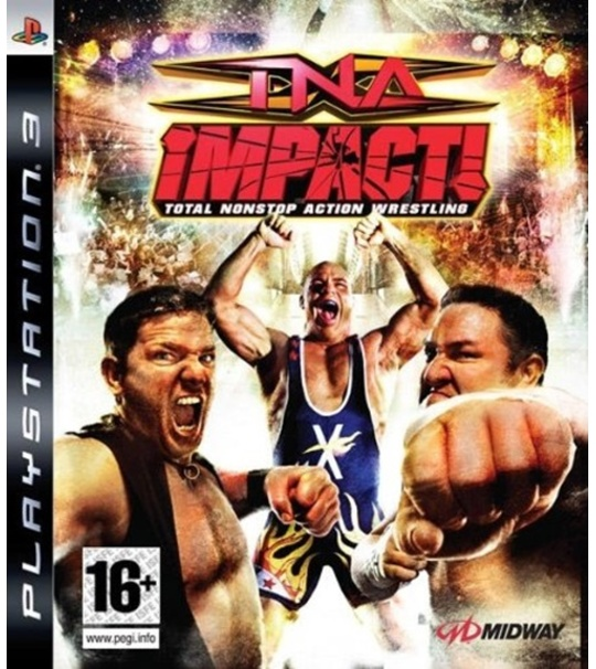 PS3 TNA IMPACT ! TOTAL NONSTOP ACTION WRESTLING