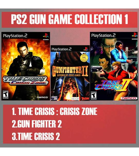 MISSION RESCUES 1 - PS2 GUN GAME VOLUME COLLECTION 1