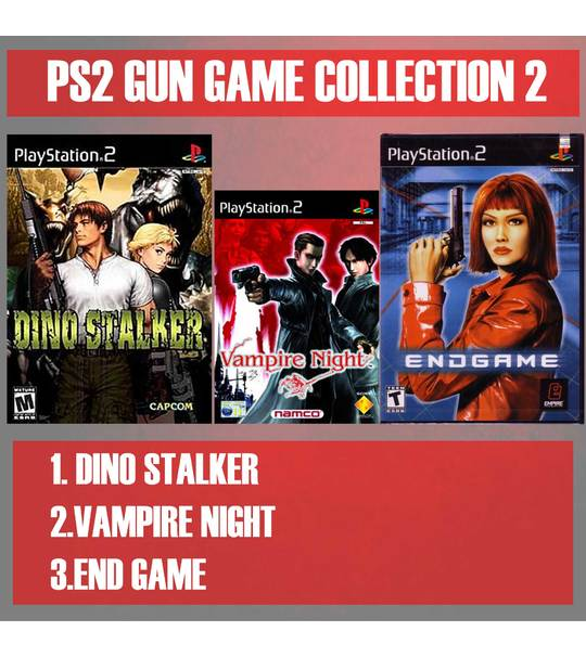 MISSION RESCUES 1 - PS2 GUN GAME VOLUME COLLECTION 2