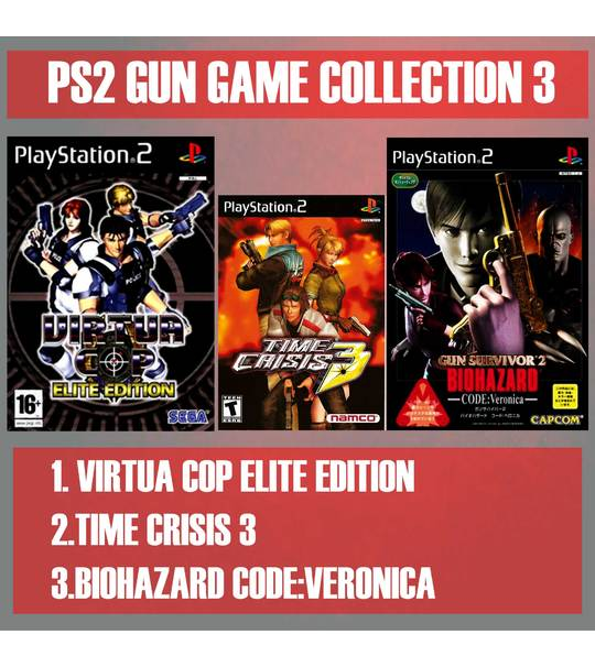 MISSION RESCUES 1 - PS2 GUN GAME VOLUME COLLECTION 3