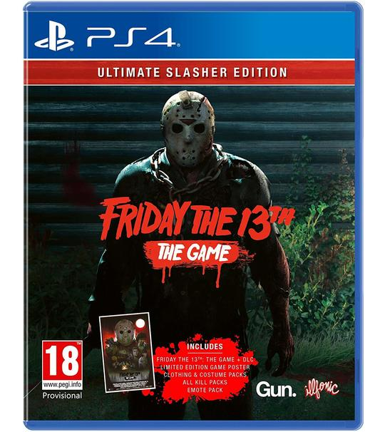 PS4 FRIDAY THE 13TH THE GAME ULTIMATE SLASHER EDITION R2