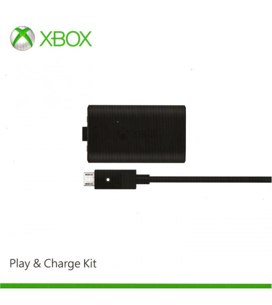 XBOX ONE MICROSOFT PLAY & CHARGE KIT ORIGINAL