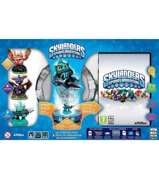 PC SKYLANDER SPYRO ADVENTURE STARTER PACK