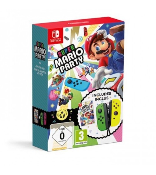 NINTENDO SWTICH MARIO PARTY JOY CON BUNDLE - GREEN/YELLOW [PRE ORDER 16/11/2018]