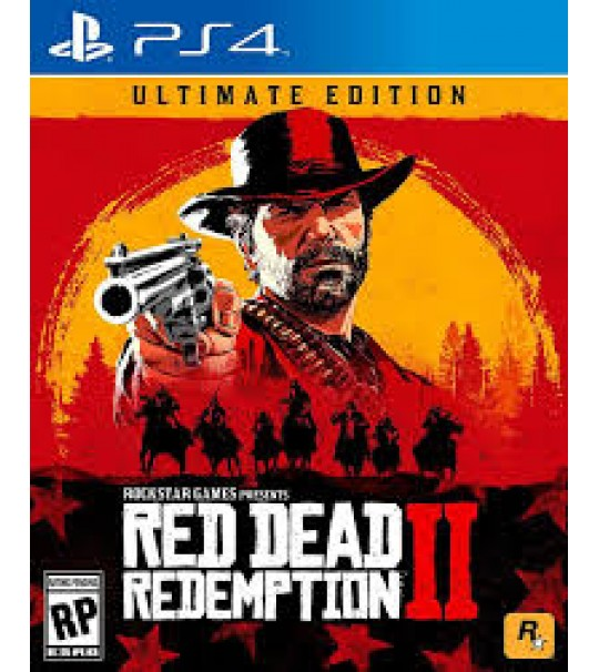 PS4 RED DEAD REDEMPTION 2 ULTIMATE EDITION R3
