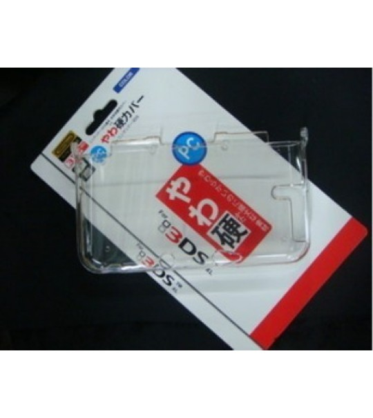 3DS XL / LL Clear Hard Crystal Protective Case Cover
