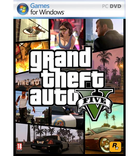 Pc Grand Theft Auto V-GTA V